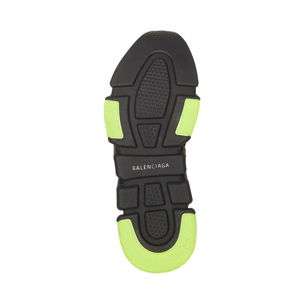 Speed Trainer Clear Sole Black Yellow Fluo