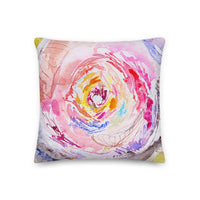 Rainbow Dance & Field of Dreams Double Sided Pillow