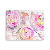 Pretty Pink Posy Canvas