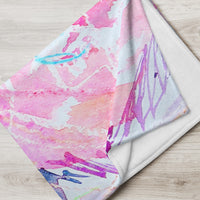 Colorful Cool Spring Blanket