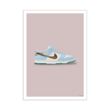 Load image into Gallery viewer, Nike SB Dunk Low 'Sean Cliver' Silhouette Sneaker Print