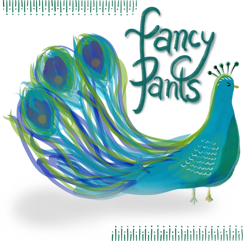 Fancy Pants Peacock