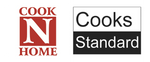 "Cook N Home Nonstick 5.5"" Mini Size One Egg Fry Pan and Sauce Pan 1-QT 