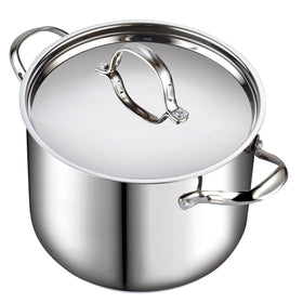 Cooks Standard Classic Stainless Steel Stockpot with lid