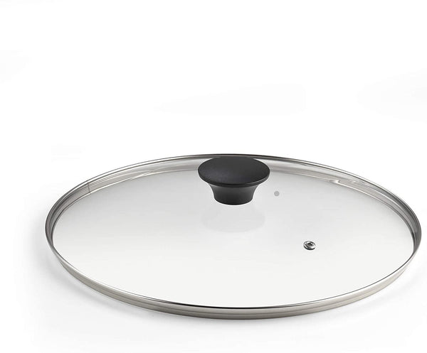Cook N Home 12-Inch/30cm Tempered Glass Lid