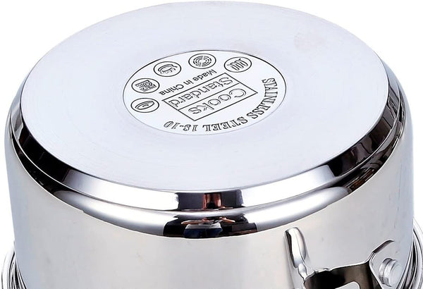Cooks Standard NC-00348 Stainless Steel 1.5QT Sauce Pan with Cover