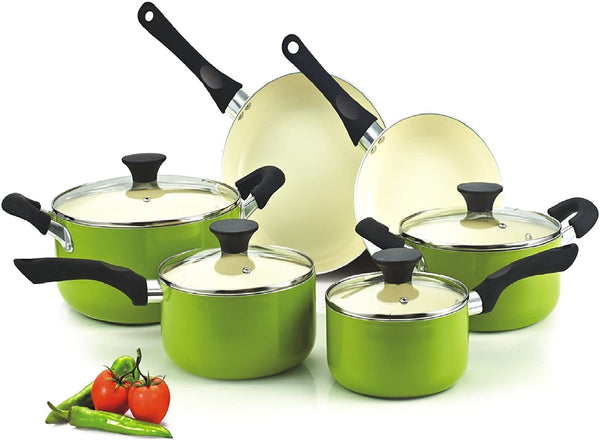 Cook N Home Ceramic coating cookware set