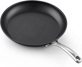 Cooks Standard 2577 Standard 12-Inch/30cm Nonstick Hard, Black Anodized Fry Saute Omelet Pan, 12-inch
