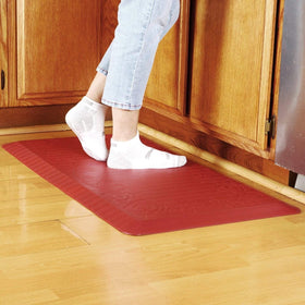 Cook N Home Anti-Fatigue Comfort Mat,39 x 20, Red, 3/4