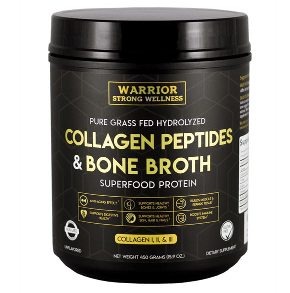 Collagen Peptides And Bone Broth Superfood Protein Powder