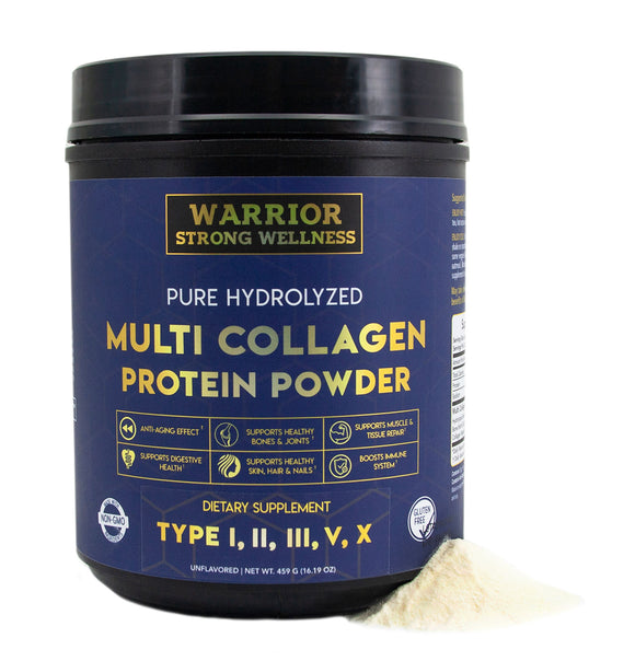 Pure Hydrolyzed Multi Collagen Protein Powder