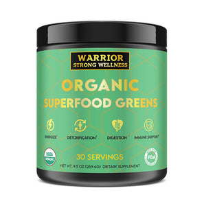 Certified Organic Superfood Greens Powder