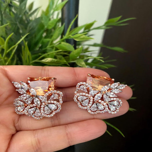 Uncut Diamond Earring