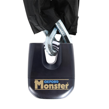 Oxford Monster 14mm 2m Hex Chain & Padlock