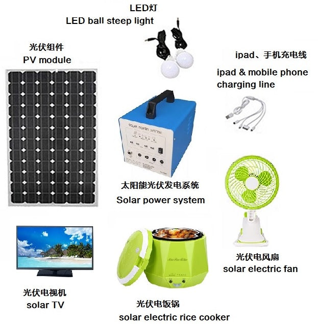 Home Solar Power System-the Sweet Home