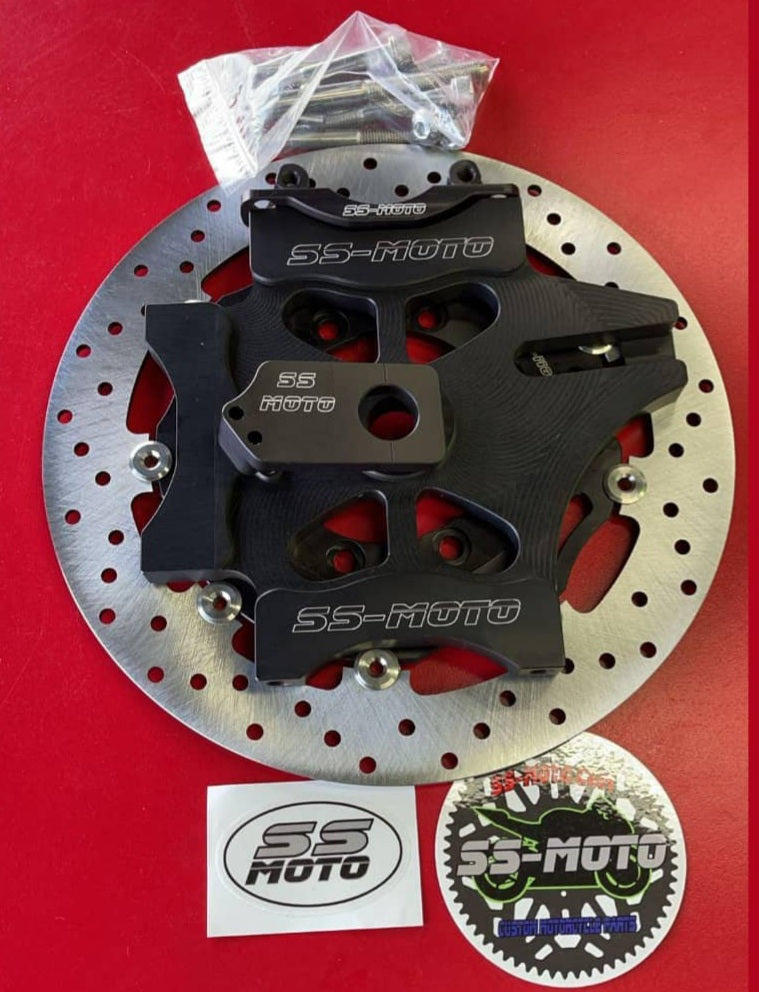 310MM TRIPLE CALIPER BRAKE BRACKET KITS