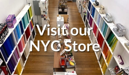 Visit our New York City quilt supply store
