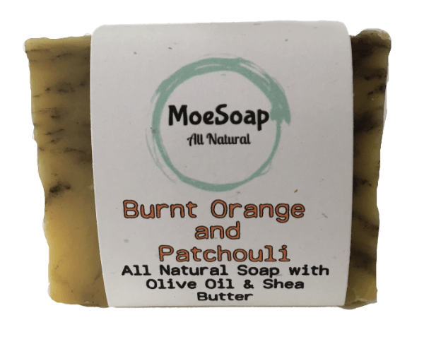 Burnt Orange Patchouli MOESOAPCO