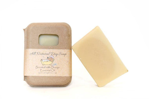 Orange Scented Dog Shampoo Bar