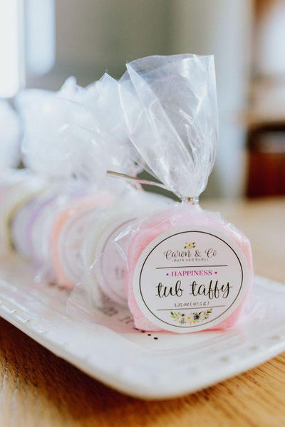 Lavender Tub Taffy