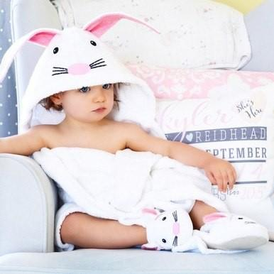Bunny Hooded Towels