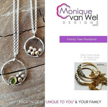 Load image into Gallery viewer, Family Tree Pendant