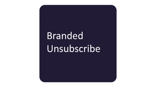 Branded Unsubscribe