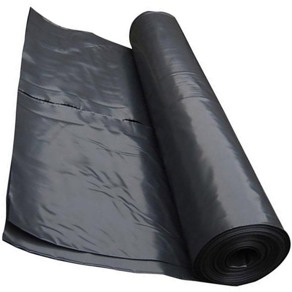 Viscreen/ polythene 1000gauge Black Plastic Sheeting