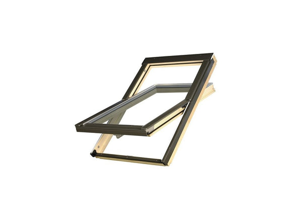 OPTILIGHT VB PINE CENTRE PIVOT ROOF WINDOW