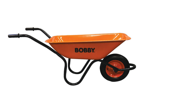 Bobby Wheelbarrow Orange Hi-viz Heavy Duty 90LT