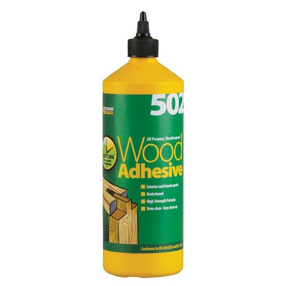 502 All Purpose Weatherproof Wood Adhesive 1LT