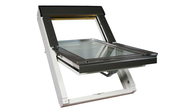 OPTILIGHT VB-W WHITE CENTRE PIVOT ROOF WINDOW