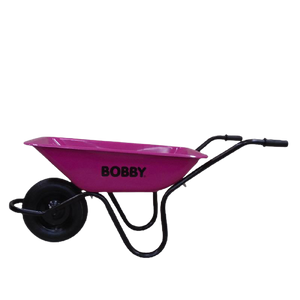 Bobby Wheelbarrow Pink Heavy Duty 90lt