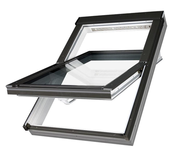 FAKRO PTP-V PVC CENTRE PIVOT ROOF WINDOW
