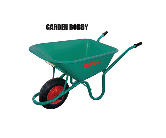 Bobby Wheelbarrow PVC Green  100LT