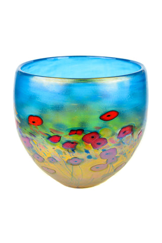 California Poppy, Medium Bowl