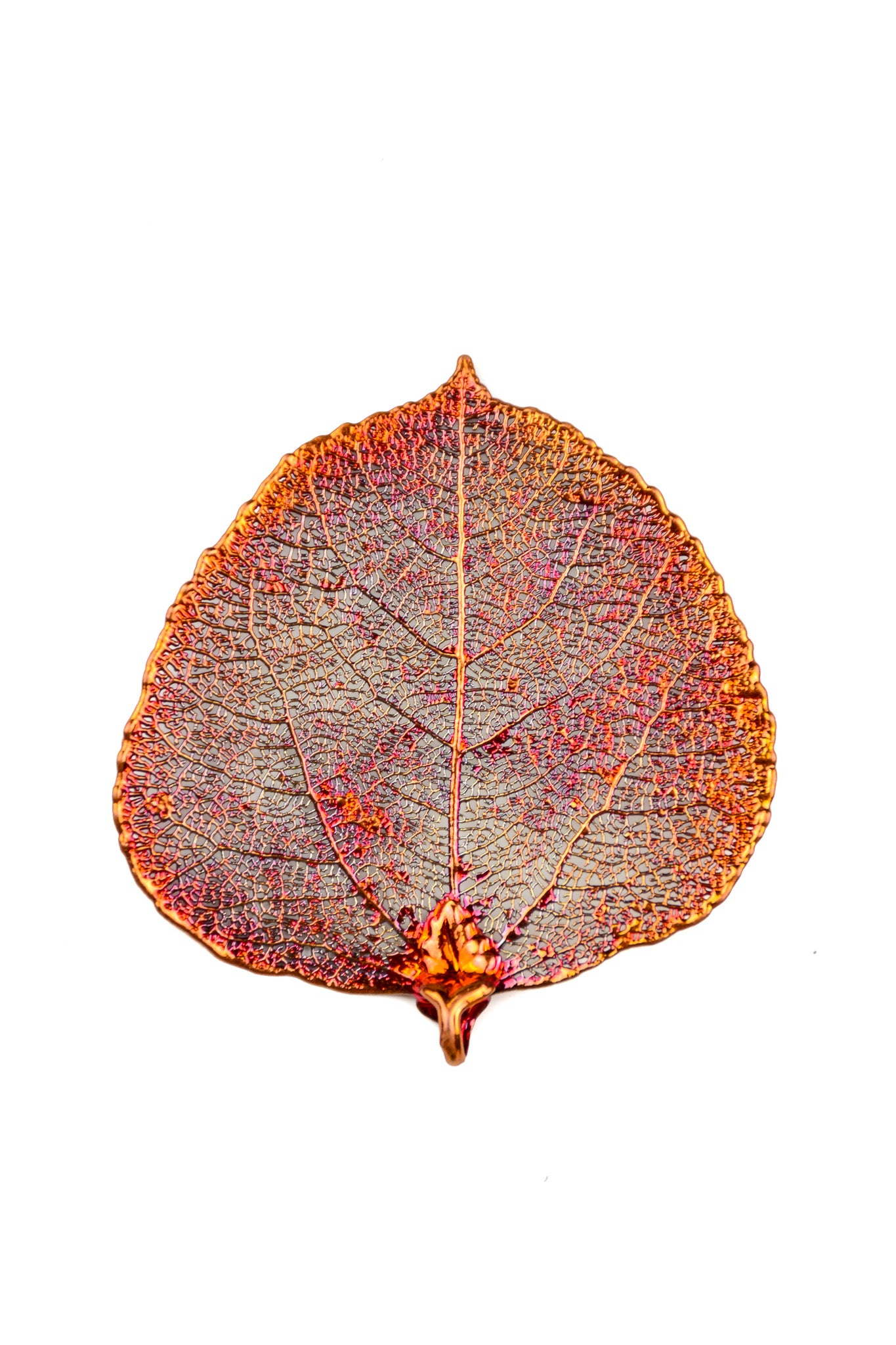 Copper Aspen Leaf