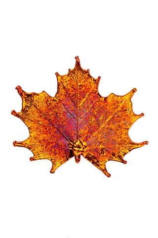 Copper Maple Leaf