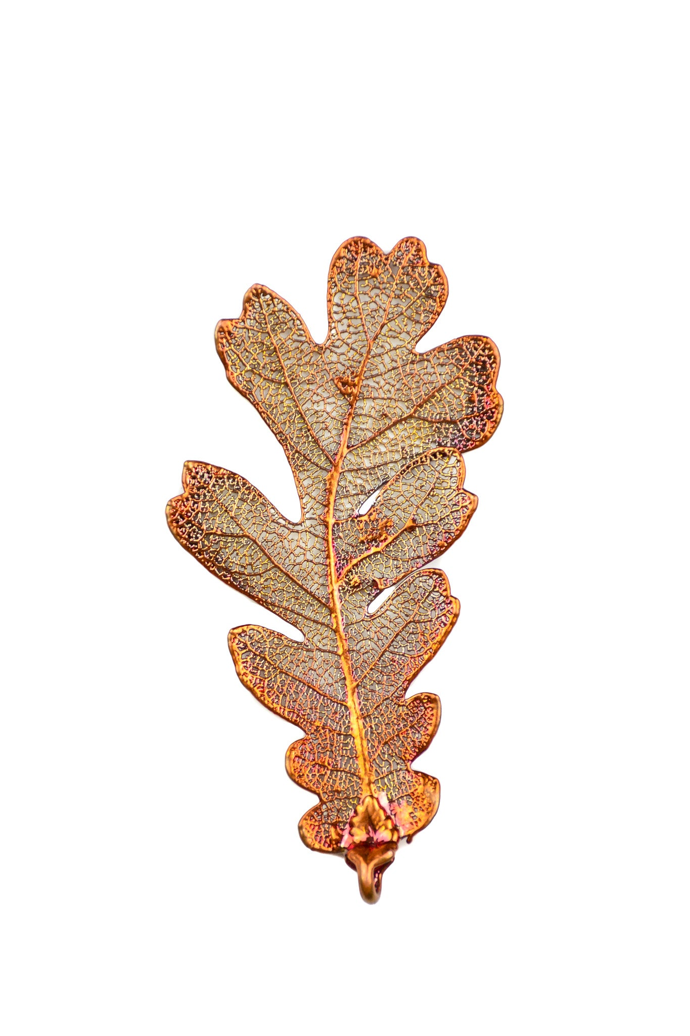 Copper Oak Leaf