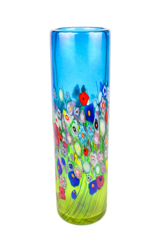 Flower Bouquet, Medium Cylinder Vase