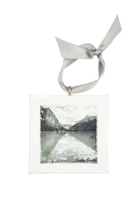 Lake Louise Mini Canvas Ornament