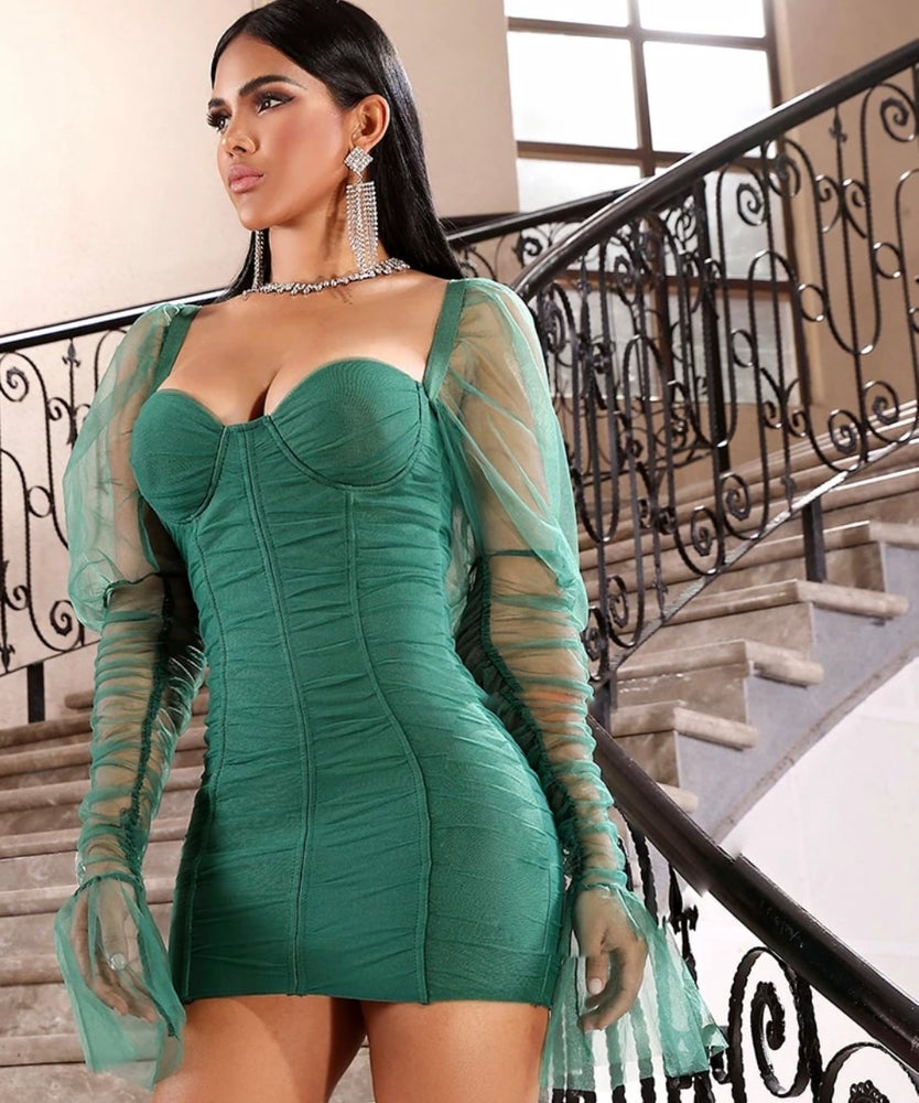 Ellena Bandage Dress. Use Coupon Code: FLASH40