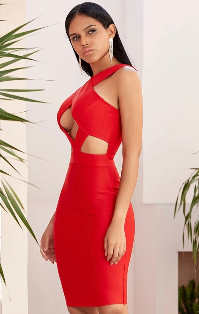 Eve Bandage Dress. Use Coupon Code: FLASH40