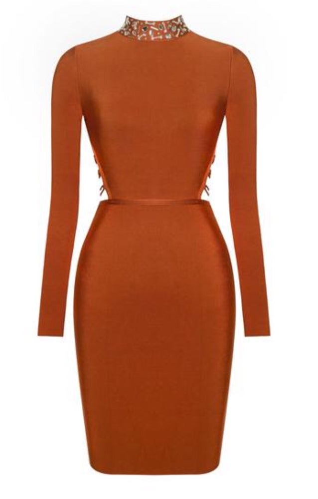 Gail Bandage Dress. Use Coupon Code: FLASH40