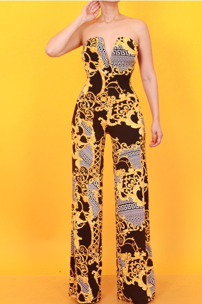 Gia Goldlink Jumpsuit: Use Coupon Code: FLASH40
