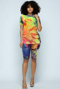 Loni Tie-Dye Set. Use Coupon Code: FLASH40