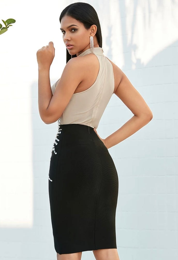 Tamia Bandage Dress. Use Coupon Code: FLASH40