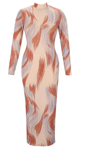 Kayla Abstract Dress