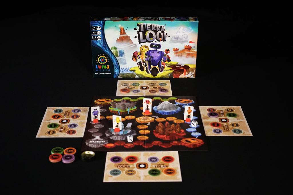 Terra Loop-Best learning game for kids-Inside box by luma world
