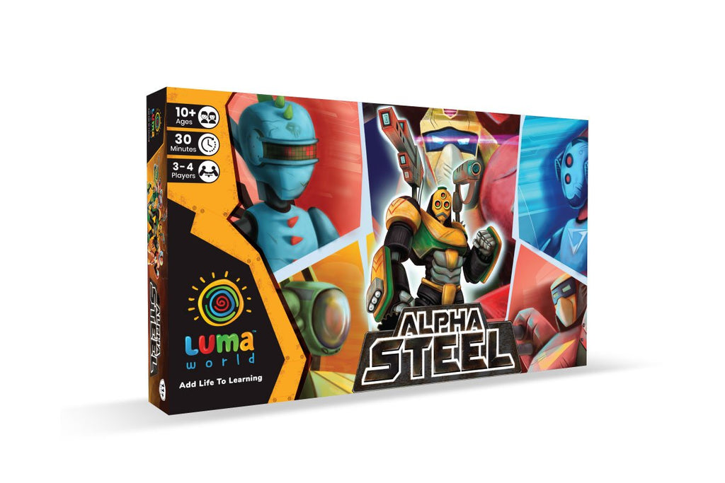 Alpha Steel: A Tactical Board Game